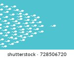 the sperm cell leader .... | Shutterstock .eps vector #728506720
