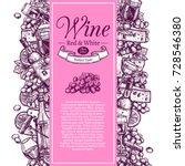 vertical vintage poster for... | Shutterstock .eps vector #728546380
