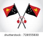 papua new guinea emblem music...   Shutterstock .eps vector #728555830