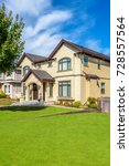 luxury house in vancouver ... | Shutterstock . vector #728557564