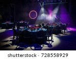 tables sets for wedding or... | Shutterstock . vector #728558929