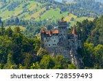 bran castle  transylvania ... | Shutterstock . vector #728559493