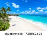 bottom bay  barbados   paradise ... | Shutterstock . vector #728562628