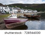 ullapool  scotland   august 15  ... | Shutterstock . vector #728566030