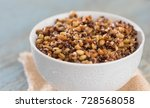 cooked mixed ancient grains... | Shutterstock . vector #728568058