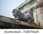 imperial city sculpture. hue ... | Shutterstock . vector #728574169