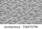 brick wall. interior texture.... | Shutterstock .eps vector #728575798