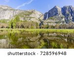 Upper Yosemite Fall With Lower...
