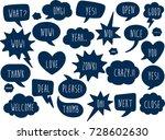 set of comic speech bubbles  ...   Shutterstock .eps vector #728602630