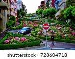 san francisco road usa   Shutterstock . vector #728604718