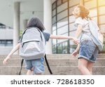 back to school education... | Shutterstock . vector #728618350