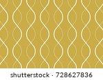 abstract vector wave line. | Shutterstock .eps vector #728627836