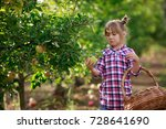kids picking fresh fruits and... | Shutterstock . vector #728641690