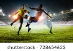 soccer best moments. mixed media | Shutterstock . vector #728654623