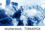 international business... | Shutterstock . vector #728660926