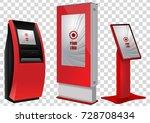 set of promotional interactive... | Shutterstock .eps vector #728708434