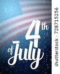illustration of independence... | Shutterstock . vector #728715256