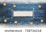 christmas background with... | Shutterstock . vector #728726218