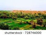 landscape of rural area  morocco | Shutterstock . vector #728746000
