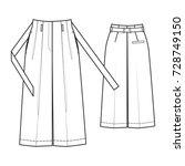 pants | Shutterstock .eps vector #728749150
