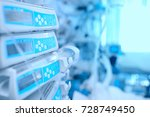 medical equipment at the... | Shutterstock . vector #728749450