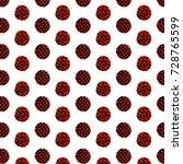 watercolor polka dot background   Shutterstock . vector #728765599