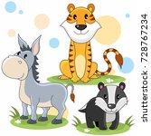 cartoon image for children... | Shutterstock .eps vector #728767234