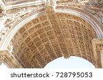 forum romanum  rome  italy   08.... | Shutterstock . vector #728795053