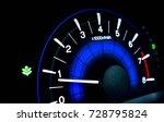 digital screen of telling speed ...