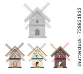 vector illustration and logo... | Shutterstock .eps vector #728821813