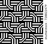 seamless pattern with black...   Shutterstock .eps vector #728822479