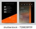 cover design vector template... | Shutterstock .eps vector #728828959