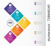 business presentation or... | Shutterstock .eps vector #728848240
