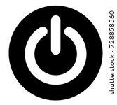 ui glyph circle power