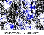 old color seamless grunge... | Shutterstock . vector #728889094