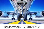 landing gear | Shutterstock . vector #728894719