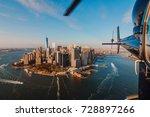 New York City Skyline And...