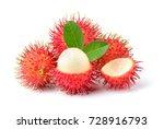 rambutan sweet delicious fruit ...   Shutterstock . vector #728916793