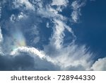 Fire Rainbow Above The Clouds....