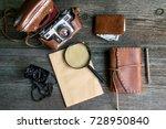 set for travel | Shutterstock . vector #728950840