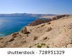 stones above rucica beach on... | Shutterstock . vector #728951329