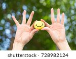 Small photo of Smile to create a cheer on the day of discouragement.