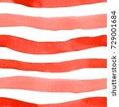 seamless watercolor pattern in... | Shutterstock . vector #729001684