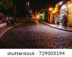 a night view for al muizz...   Shutterstock . vector #729005194