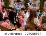 munich  germany   oct 2  2017 ... | Shutterstock . vector #729005914