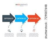 business infographics template... | Shutterstock .eps vector #729007648