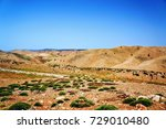 landscape of rural area  morocco | Shutterstock . vector #729010480