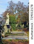 austria  graves on... | Shutterstock . vector #729012178