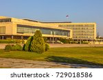 great building the palace of... | Shutterstock . vector #729018586