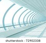 Light Hall In Metro Station